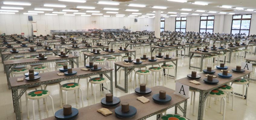 400人の陶芸教室