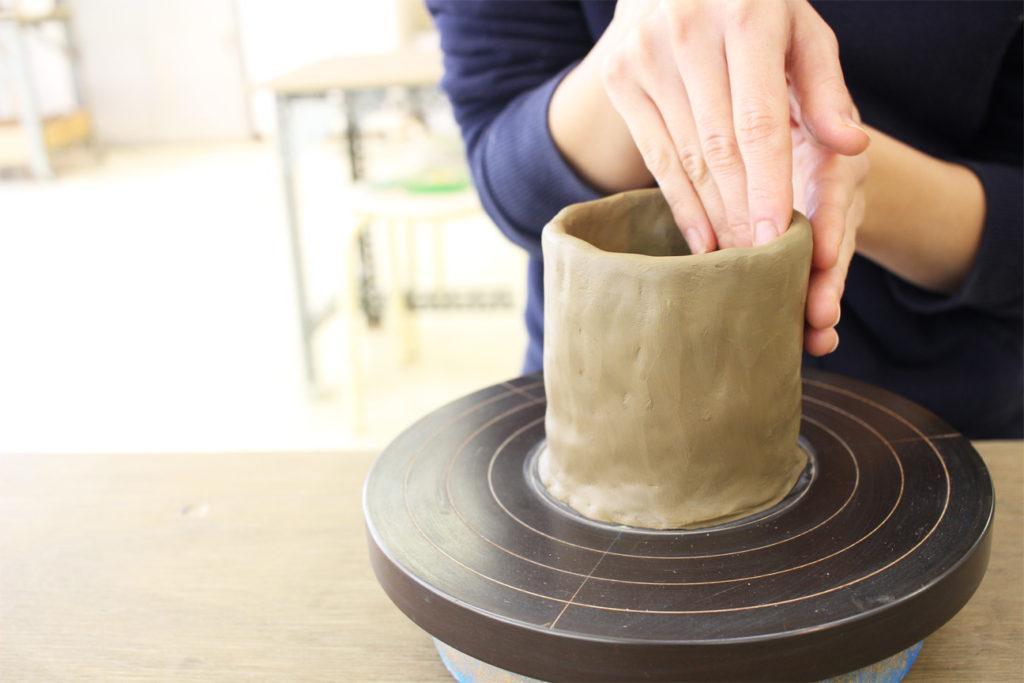 陶芸体験 手びねり